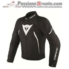 Jacket moto Dainese Avro D2 Tex black white