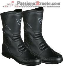 Stivale moto touring Dainese Freeland Gore-tex nero black waterproof