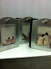 Silver plated Wedding Anniversary photo frame album