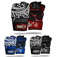OneX MMA Boxing Gloves Fist Protector Muay Thai Mitts UFC Padded Gloves