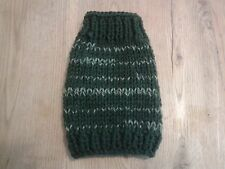 """7"""" forest green jumper, t cup chihuahua, yorkie, dog, puppy, cat, kitten"""