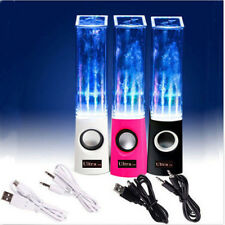 New Dancing Water Speakers USB Dancing Fountain Speakers PC Mac MP3 Phones