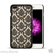"""* NEW VINTAGE FLOWER PATTERN * Back Cover Case Apple iPhone 7 PLUS (5.5"""")"""