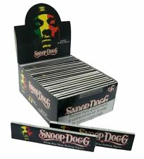Snoop Dogg King Size Slim Cigarette Smoking Rolling Papers Genuine - 33 Leaves