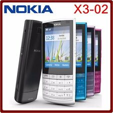Reformiert Nokia X3-02 Touch Display Bluetooth WIFI 5MP Kamera Smartphone Handy