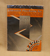 1934 Federated Purchaser Vintage Radio Catalog Early Electronics Parts Equipment
