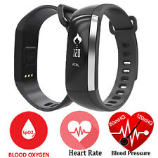Heart Rate Smart Watch  Monitor Blood Pressure Oxygen Smartband For Ios Android