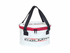 COLMIC VARANO W/ COVER ZIP UP PVC COLLAPSIBLE GROUNDBAIT BUCKET FISHING LUGGAGE