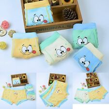 1 Pc Cartoon Boy Kids Flat underwear Boxer Panties Accessories Underpants L-XXL