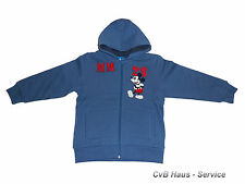 Disney Mickey Mouse Maus Sweatjacke Sweat Jacke Gr. 116 140 +NEU+ 553