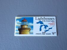 Lighthouses of the Great Lakes – US Postage Stamps Booklet 1995 USPS
