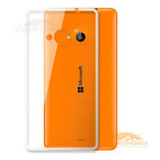 Transparent Silicon Soft Back TPU Cover for Microsoft Nokia Lumia 535