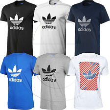 Adidas Originals Trefoil Essentials California Mens Crew Neck T-Shirt Casual