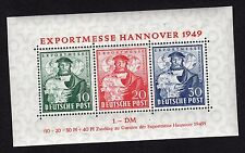 Germany Sc# 664A Mint Never Hinged Souvenir Sheet of Three Stamps