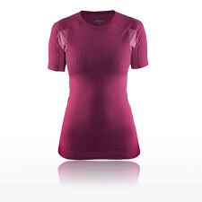 Craft Active Extreme 2.0 RN Womens Pink Short Sleeve Running T Shirt Tee Top