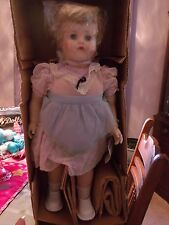 Vintage 1950s Winnie the Walking and Talking Doll complete in box