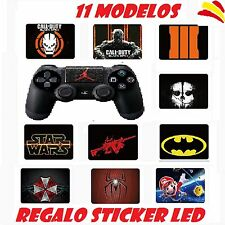 TOUCHPAD MANDO VINILO PS4 STICKER ADHESIVO PEGATINA 11 MODELOS PlayStation4