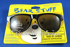 BUILD-A-BEAR BLACK FRAME SUNGLASSES TEDDY SIZE TOY ACCESSORY NEW