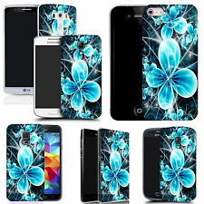 hard slim case cover for many mobiles -  futuristic flower