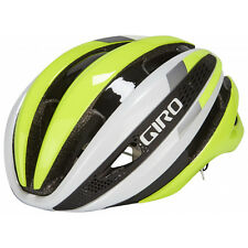06 Giro Casque Synthe Mips, Blanc/Highlight Jaune
