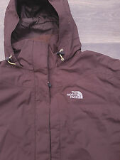 "Womens The North Face HyVent Outdoor Jacket Coat Brown Medium 44"" Chest"