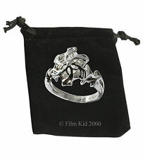 Mujer Galadriel Anillo Con Flor agua Hobbit LOTR Lord of the Rings Elven Realeza