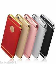New  3-in-1 SHOCKPROOF* Back Cover Cases APPLE IPHONE 5/5S & Tempered Glass