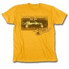 Adult Men's Movie Smokey and the Bandit Breaker for the Bandit Gold T-Shirt Tee