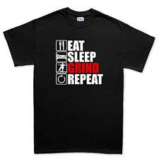 Eat Sleep Skateboard Skateboarding Mens T shirt Tee Top T-shirt