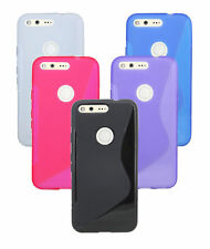 Gel Custodia protettiva in silicone ACCESSORI COVER per Google Pixel @ COFI