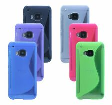 Gel Custodia protettiva in silicone Accessori @Cofi per HTC ONE M9