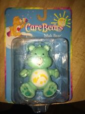 Play Along Care Bears WISH BEAR 3 1/2 Inch 2002 Poseable Figure New In Box