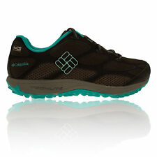 Columbia Conspiracy Iv Outdry Mujer Verde Negro Impermeable Sendero Zapatillas