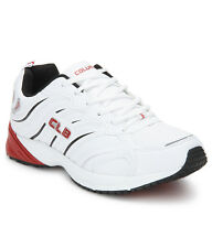 COLUMBUS BRAND MENS CASINO WHITE RED CASUAL LACE SPORTS SHOES