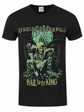 Avenged Sevenfold Hombres camiseta clásica Hail to the King En Vie AX7 Band