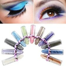 1 Pcs 11 Colors Roller Color Eye Shadow Glitter Pigment Loose Powder Makeup New