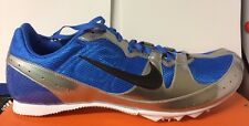 Nike Mens Running Shoes Spikes Zoom Rival MD 5 UK 11.5 & 14 Lightweight Blue