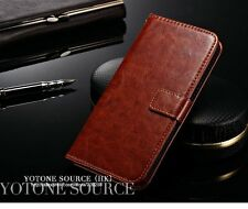 Vintage Retro Leather Diary Stand Wallet Flip Cover for Oneplus 2