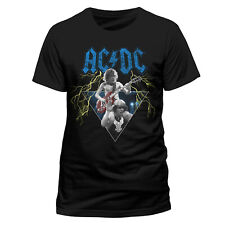 Official AC DC Angus & Brian Stage Pose T Shirt High Voltage Classic Rock New
