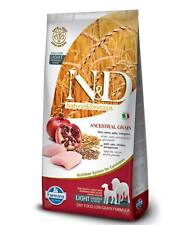 Farmina N&D Low Ancestral Grain Pollo e melograno Light medium e maxi i 12 kg pe