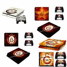 Autocollant pour PS4 Galatasaray ''console + 2 manettes'' Sony PlayStation 4