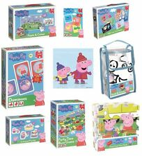 Peppa Pig Games Bath Puzzles Colouring Multi-Buy Discount