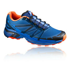 Salomon Wings Pro 2 Mens Blue Cushioned Running Sports Shoes Trainers Pumps
