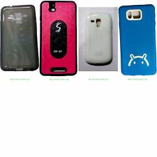 Premium Soft Glossy Back Cover For Samsung Model