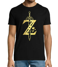 Legend of Zelda breath of the wild logo inspired men's gaming and gamer T shirt