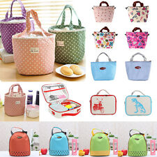 Portable Insulated Thermal Cooler Lunch Box Tote Storage Bag Picnic Container