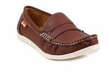 Quarks Brown Smart Moccasin For Men (Q1073BR)