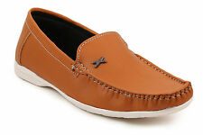 Quarks Rust Classic Loafers For Men (Q1069TN)