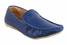 Quarks Classic Blue Loafer Shoes For Men (Q1055BL)