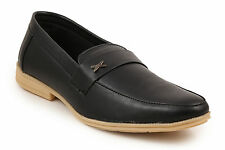 Quarks Black Semi Formal Slip On For Men (Q1072BK)